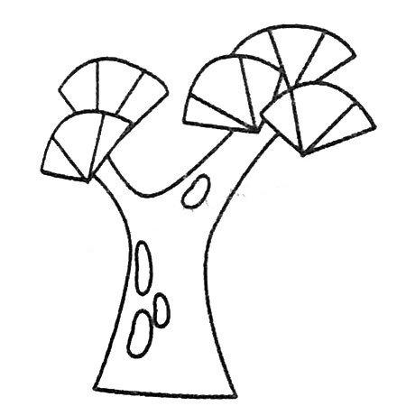 松树的多种画法