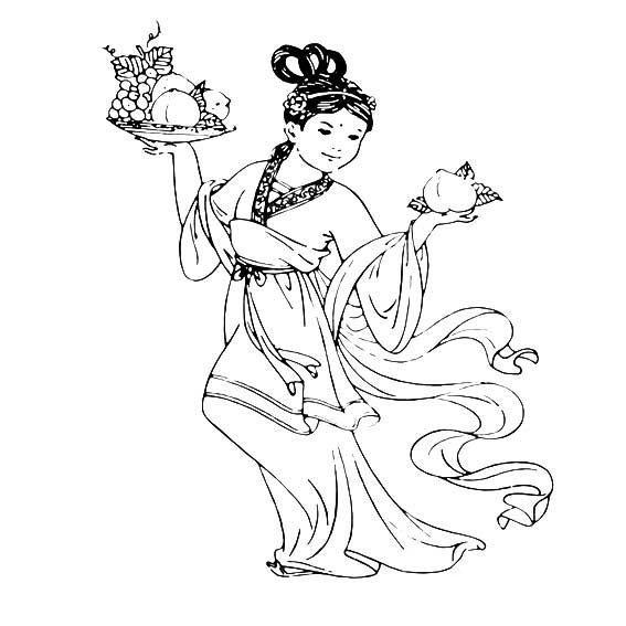 春节年画人物简笔画