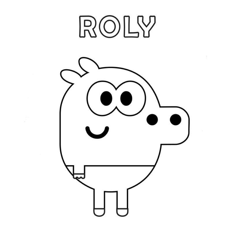 阿奇幼幼园中的小河马Roly