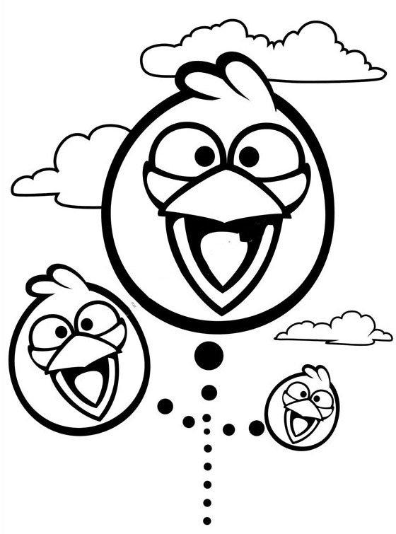 愤怒的小鸟头像简笔画