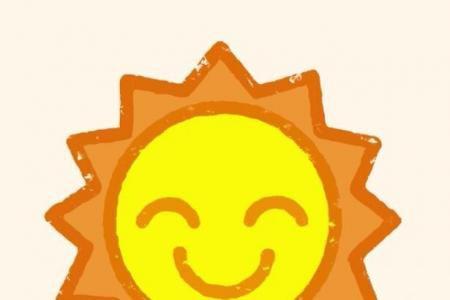 神奇简笔画 太阳