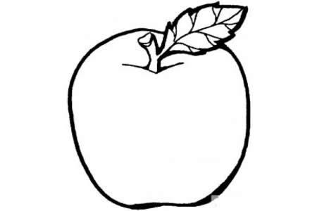 教宝宝画苹果