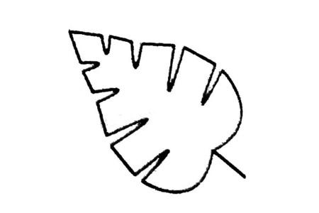 简单的树叶简笔画大全