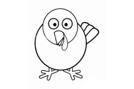 发呆的小鸟