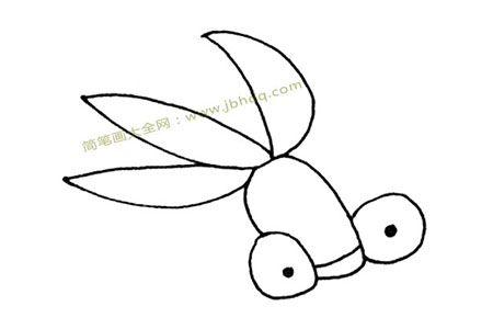 简单的金鱼简笔画图片
