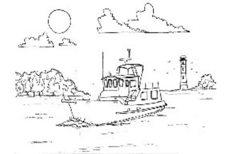 大西洋中的一艘油轮