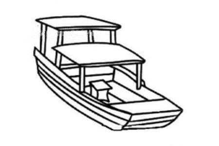 观光的小船