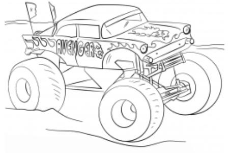 复仇者怪物卡车