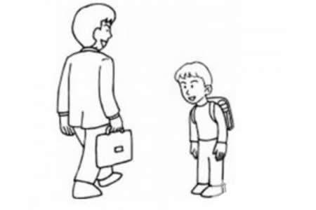 教师节简笔画——老师,您辛苦了