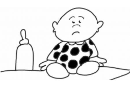 宝宝和他的奶瓶