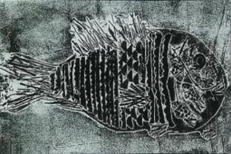 儿童画 鱼妈妈