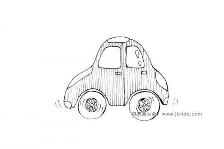 8张简单的交通工具简笔画图片