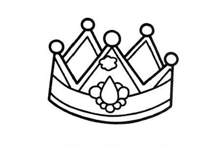 简笔画图片皇冠