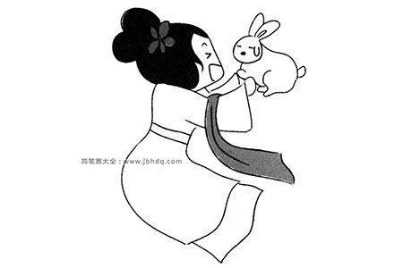 嫦娥和玉兔