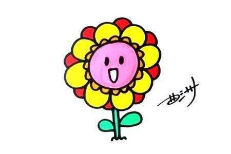 可爱的花朵