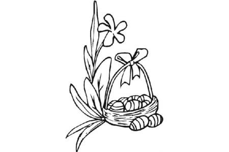 复活节百合花