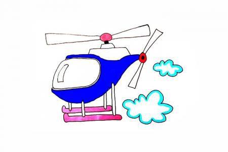直升机怎么画
