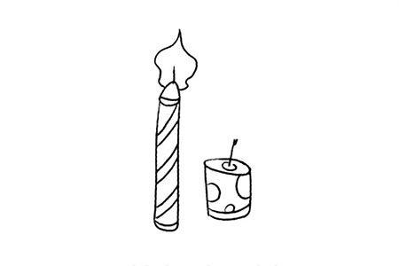 节日用品 蜡烛