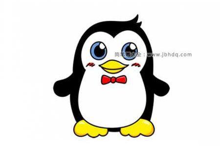 可爱的Q版企鹅