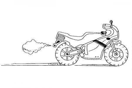 拉风的摩托车