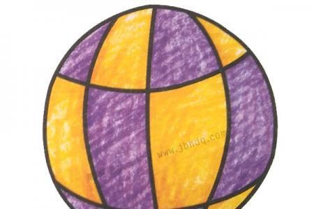 幼儿学画热气球