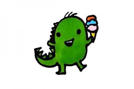 简单可爱小恐龙