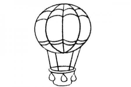悠闲的热气球