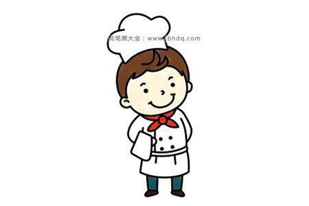 帅气的厨师