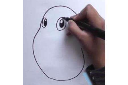 卡通土豆怎么画 土豆铅笔画教程