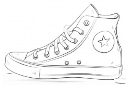 匡威的鞋子