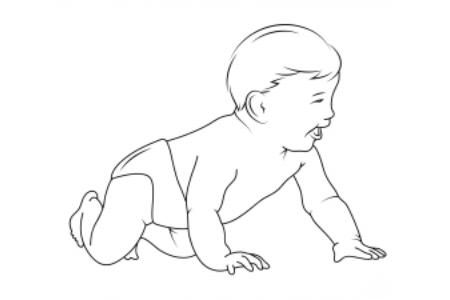 小宝宝的画法