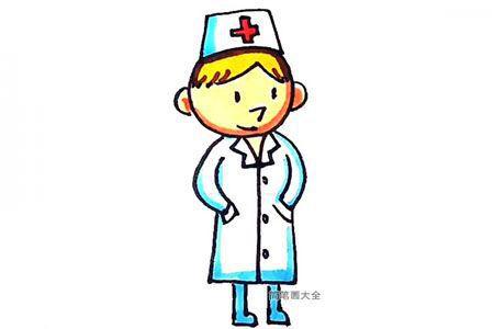 一步一步学画医生