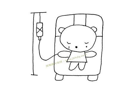 小熊生病了