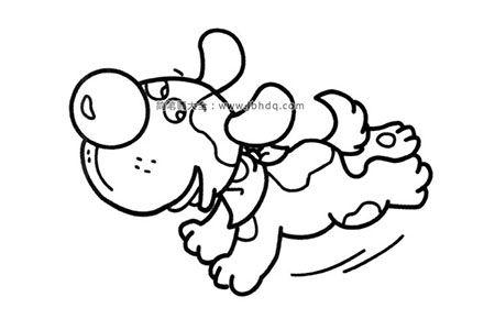 奔跑的小狗
