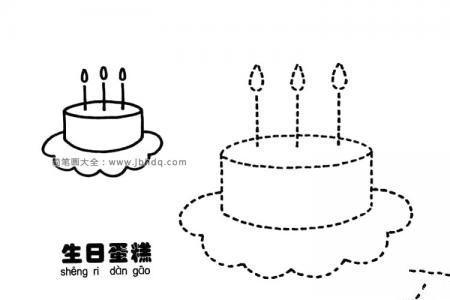 两个生日蛋糕