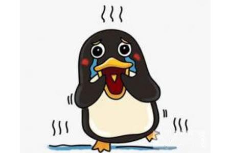 简笔画教程 企鹅简笔画步骤图