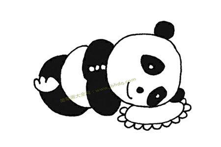 大熊猫在睡觉