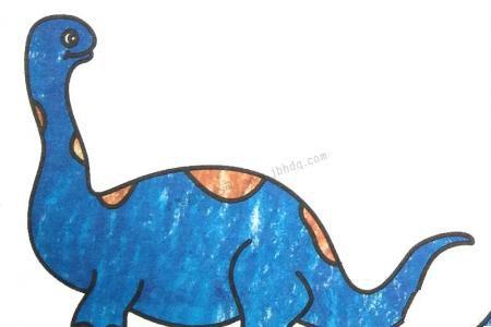 幼儿学画迷惑龙