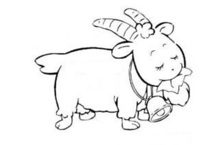 幸福沉醉的小羊