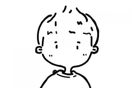 几张简单的小男孩简笔画图片