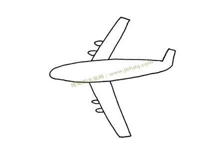 一组简单的飞机简笔画