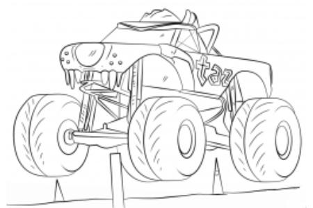 小胡子怪物卡车