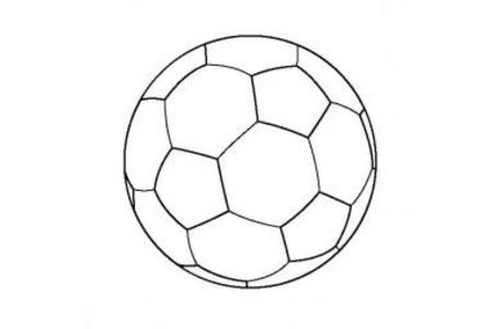 儿童玩具图片足球简笔画图片