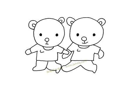小熊哥哥和小熊弟弟