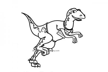 恐龙世界之始盗龙