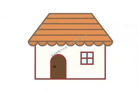 画一间漂亮的小房子