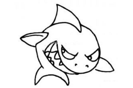凶狠的鲨鱼