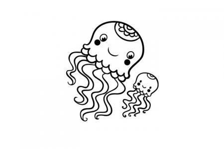 两只可爱的小章鱼
