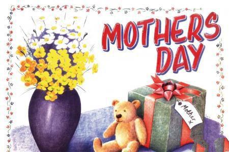 送给妈妈的礼物母亲节优秀手绘作品欣赏