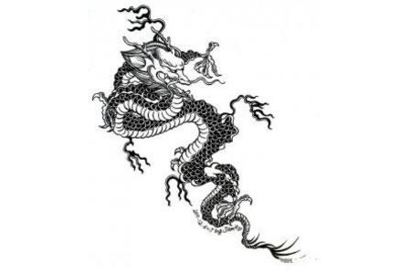 龙的简笔画 中国龙简笔画图片大全